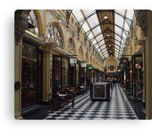 Royal Arcade. Melbourne. Canvas Print