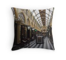 Royal Arcade. Melbourne. Throw Pillow