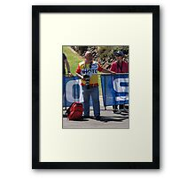 Photographing Photographers. Framed Print