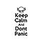 Keep Calm &amp; Dont Panic ( iPhone Case ) by PopCultFanatics