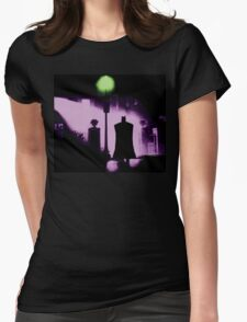 The Power of Bats Compels You! Womens Fitted T-Shirt