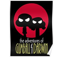 The Adventures of Gumball & Darwin Poster