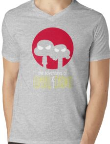 The Adventures of Gumball & Darwin Mens V-Neck T-Shirt
