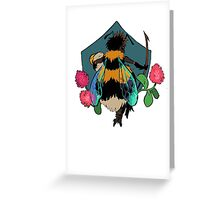 bumblebee queen Greeting Card