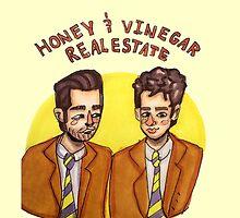Honey and Vinegar Realestate by hesitxntaliens