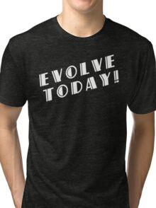 BioShock – Evolve Today! (White) Tri-blend T-Shirt