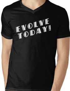 BioShock – Evolve Today! (White) Mens V-Neck T-Shirt