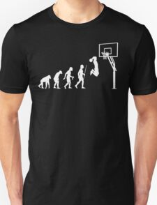 Funny Basketball Dunk Evolution of Man T-Shirt
