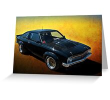 Black Torana A9X Greeting Card