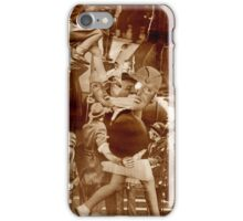 Raw Collage the Hostage. iPhone Case/Skin