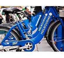 Bikes of Bikes Photographic Print