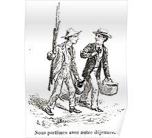 Achille Sirouy Mark Twain Les Aventures de Huck Huckleberry Finn illustration p265 Poster