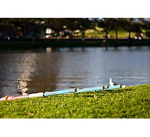 Ready to Row Photographic Print