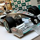 Petronas Mercedes GP F1 Car on Display by 3rdeyelens