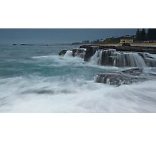 Green sea Photographic Print