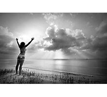 Sun Salutation Photographic Print