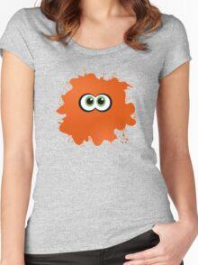 Splatoon: Splattered Inkling Women's Fitted Scoop T-Shirt