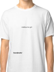 melbourne girl Classic T-Shirt
