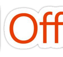 Microsoft Office Sticker