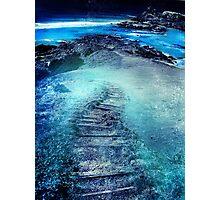 mist beach Photographic Print