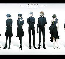 Persona 4 by Esculor