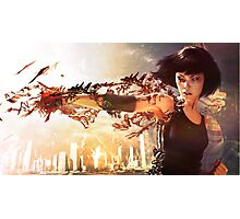Mirror's edge Photographic Print