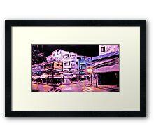 ho chi min: by night Framed Print