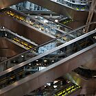 Lloyd's Building - elevators by Bartosz Chajek