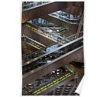 Lloyd's Building - elevators Poster