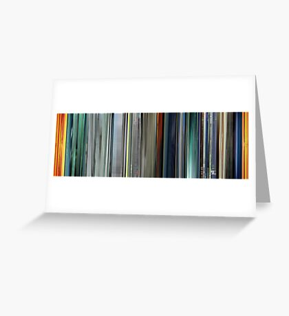 Moviebarcode: The Animatrix 2 The Second Renaissance Part I (2003) Greeting Card