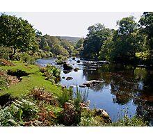 Early autumn on Dartmoor in Devon Photographic Print