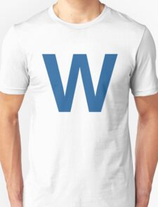 Fly The W - Cubs Playoffs T-Shirt