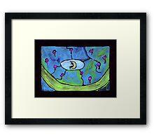 Midnight Garden cycle7 15 Framed Print