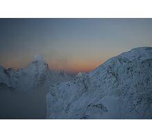 Sunrise Over Ama Dablam Photographic Print