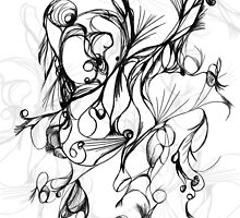 random abstract sketch by pyko