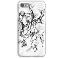 random abstract sketch iPhone Case/Skin