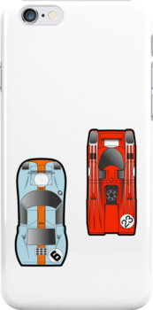Le Mans 917 vs Ford GT40 by geekchic  tees