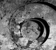 Swirl B&W by Stuart  Noall