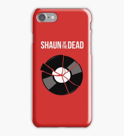 Shaun of the Dead - Record iPhone Case/Skin