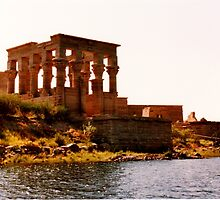 Philae temple Egypt by machka