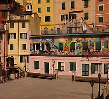 Riomaggiore Parking Lot by PaulWallace