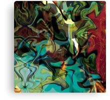 """Panel Three Triptych """"Beyond The Barriers"""" Canvas Print"""