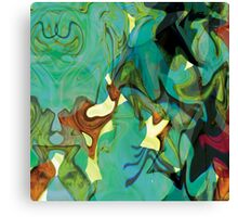 """Panel Two in Triptych """"Beyond The Barriers"""" Canvas Print"""