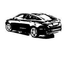 Ford Mondeo Hatchback 2013 by garts