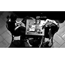 Ennui at Table 18 Photographic Print