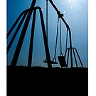 Abandoned Swing Set (iPhone Case) by maclac