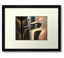 Handle the Spotlight Framed Print