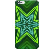 Green Star iPhone Case/Skin