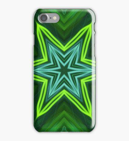 Green Star iPhone Case/Skin