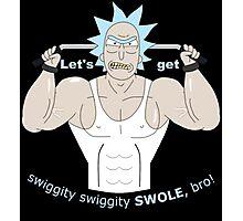 Rick and Morty - Big Rick Swole Patrol Photographic Print